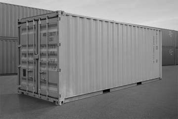 Materiaalcontainer 20ft.